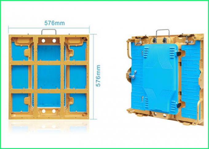 Rental Full Color RGB LED Module Stage Backdrop Die Casting Aluminum Cabinet