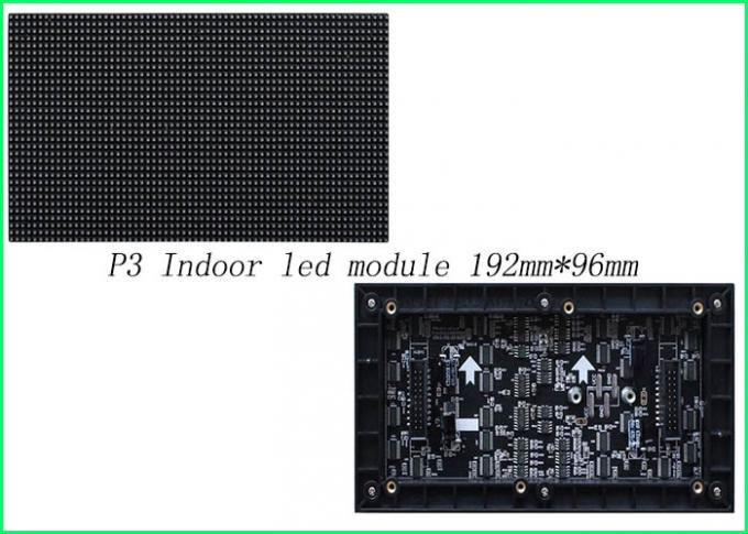Light Weight Indoor LED Displays For Dinner Party With Aluminum Alloy  Black Chip 1 / 32 Scan