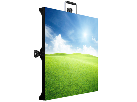 Sunrise P4.81 outdoor/indoor full color display for rent,cabinet Size500*1000*75mm