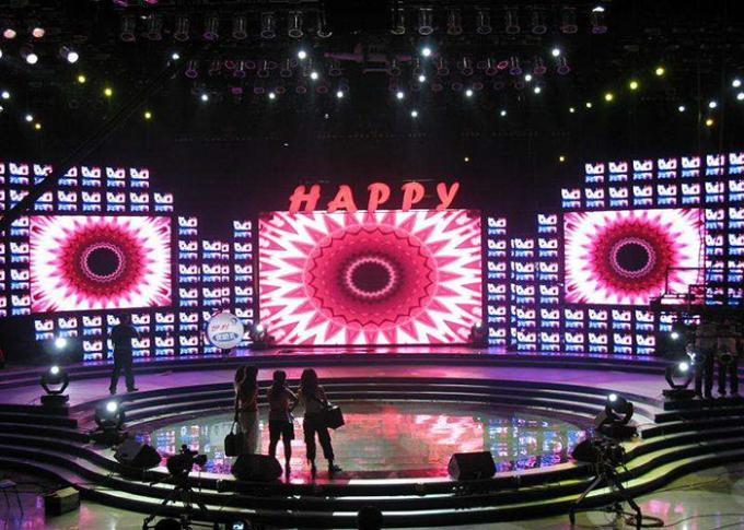 Light Weight 2121 SMD Led Video Wall Rental Indoor Led Display Board Die Casting Aluminum