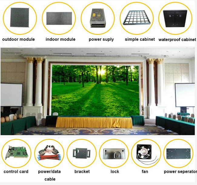 Fixed P8 SMD Outdoor Led Advertising Signs Double Sided HD Video Screen Waterproof 6500 Nits