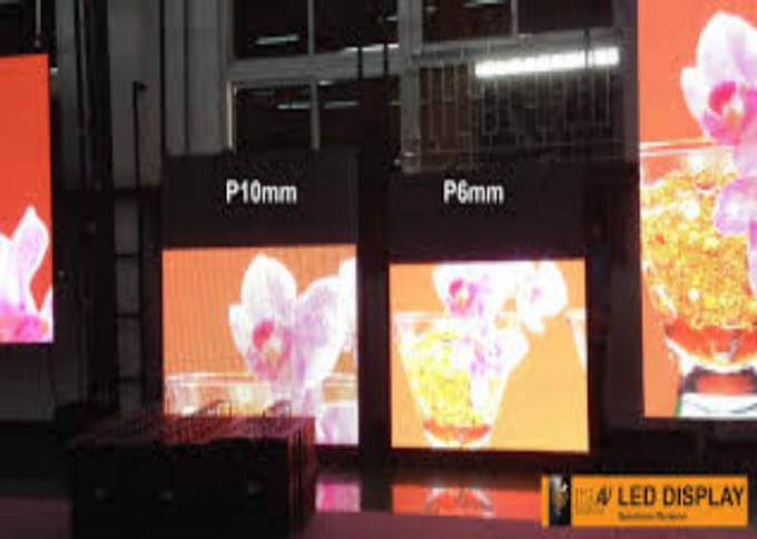 Commercial RGB Outdoor LED Displays , LED Wall Screen Display For Advertising