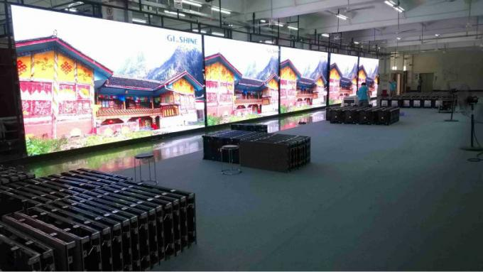 Rear Maintenance Super Slim SMD3535 Rgb Led Screen Big Massive Video Wall Show