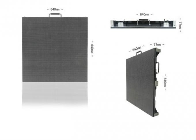 P5 Portable Indoor Led Video Wall Rental For Concert , Stage Background Led Screen