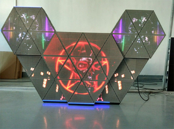 P5 Full Color LED Dj Booth With Multi Screens / Adjustable Brightness For Bar Club